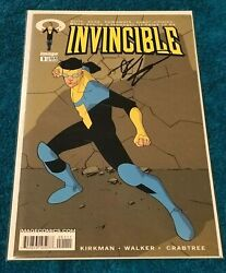 Invincible 1 1st App Omni Origin 1st Print Signed Robert Kirkman Cgc It