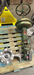 Fisher 8 V100 Cl600/1125f Actuated V-ball Valve