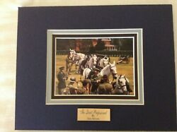 The Quiet Professional Don Stivers Triple Matted With Engraved Name Plate 8x10