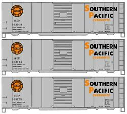 Accurail 8105 Ho Southern Pacific 'overnight' 40' Aar Boxcar 3