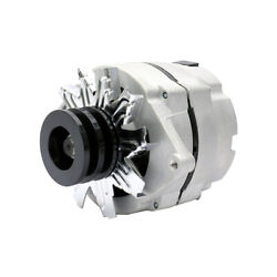 New Alternator For Chevy Gmc 10si 1-wire One Wire W/ 2 Groove Pulley 7127-sen-2g