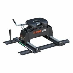 Curt 16646 Q24 Fifth Wheel Hitch Head With R24 Roller And Rails