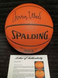 Psadna-lakers Champs+hof Guards Jerry West-bill Sharman Signed Nba Game Ball