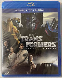 Transformers Last Knight New Sealed Blu-ray+dvd,expired Digitialsee Pictures