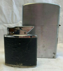 2 Vtg Large Oversized Store Display Novelty Lighters The Giant Hinged Top Japan