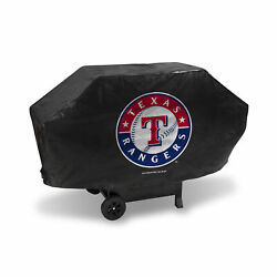 Grilling - Texas Rangers Deluxe Grill Cover Black