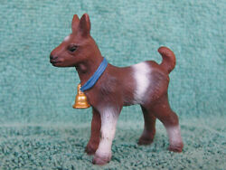 Retired Schleich Animal Kids 14454 Kid Goat With Bell - Made 2004-2005 Only - S