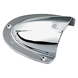 Perko 4 L X 3-3/4 W X 1-5/8 H Chrome Plated Brass Clam Shell Vent
