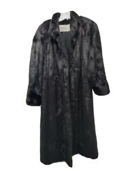 The Evans Collection At Laura Penko Black Mink Fur Stunning