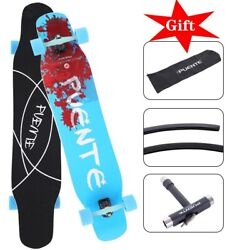 Pro 31x8 Skateboards Complete Double Kick Deck Concave Gift For Kids Teens Ny