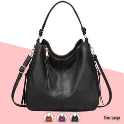 Hobo Bag Women Faux Leather Purses Handbags Shoulder Crossbody Fashion Vegan $34.99