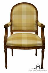 Fairfield Furniture Louis Xvi Country French Upholstered Accent Arm Chair
