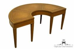 Fine Arts Furniture Co. Duncan Phyfe 42 Half Moon Accent Coffee Table W. Too...