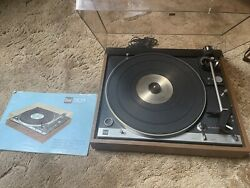 Dual Cs 701 Turntable With Dust Cover And Original Owners Manuelortofon Cart