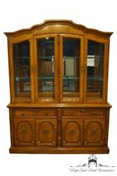 Thomasville Furniture Serenade Collection 65 Buffet W. Display China Cabinet...