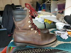 Red Wing Brown Usa Irish Setter Sport Vintage Trail Boss Boots 11 D