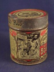 Rare Vintage Tin Box Powder Filler For All Ideal For Bicycle Inner Tube 1900