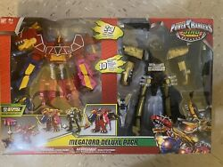 Power Rangers Dino Charge And Ptera Megazord Deluxe Pack Tri-stego-ptera New 2015