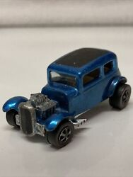 Hot Wheels Redline Classic And03932 Ford Vicky 1968 Blue Made In United States