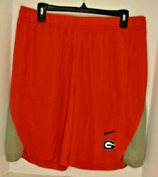 Nike Men's Georgia Bulldogs On Field Player Extra Large Shorts Red