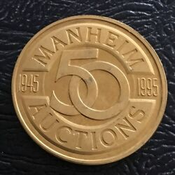 Manheim Auctions 50 Years Best On The Block Coin Medal
