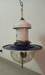 Made In Austria Helios Hanging Lamp 2000 Candle Poweror U Gas /other No Petromax