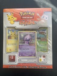 Pokemon Rumble Game Tcg Box Includes 16 Exclusive Cards Factory Sealed New