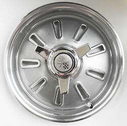 1964 64 Chevrolet Corvette Original Factory Set Of Hubcaps - 4 - Nice - Nos