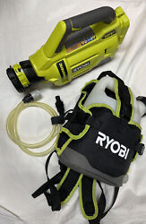 Ryobi One + Electrostatic 1 Gallon Tank Indoor Outdoor Tool Only Cleaner P2870