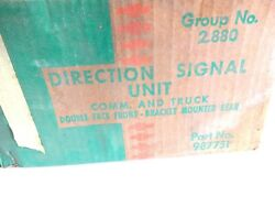Nos 1958 1959 Chevy Truck Directional Turn Signal Lamp Light Accessory Kit Rare