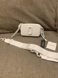 The Marc Jacobs MOON WHITE Camera Crossbody NEW $190.00
