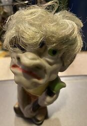Play-pal 1964 Monster Toy 1 Rubber Figure Doll Hunchback Please View Photos