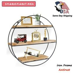 19.68x19.68in 3d Floating Coin Display Frame Holder Box Case Black W/ Stand-iron