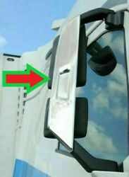Volvo Fh4 Chrome Mirror Covers Super Polished Stainless Steel 2 Pcs.