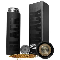 16 Oz Vacuum Sealed Steel Thermos Insulated Coffee Cup Travel Mug By Black Brand