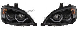 96-18 Freightliner Columbia Blackout Projection Headlights A0651041000 31224/25