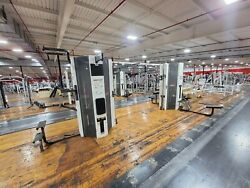 Cybex 8 Stack Jungle Gym Commercial Gym Equipment