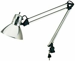 V-light Architect-style Cfl Swing-arm Task Lamp With Non-skid Table/desk Clam...