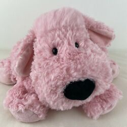 Jellycat Truffles Pink Poodle Puppy Dog Floppy Large Pillow Plush 28 Rare