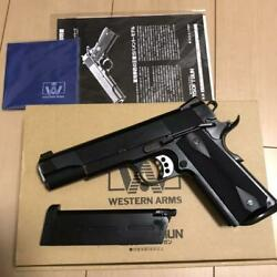 Western Arms Wa L.a. Vickers Custom Airsoft Real Steel Ver. Rare Limited