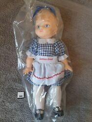 Vintage Discontinued Collectible New 1970 Sunbeam Bread Doll 13 Inch