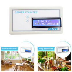 Compact Geiger-muller Counter Nuclear Radiation Detector Meter Precise