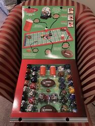 New Box Nfl Mighty Helmet Racers R/c Football Game Gift Set 2004 Playing Field