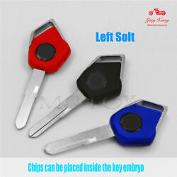 Left / Right Slot Blank Blade Motorcycle Uncut Key Fit For Kawasaki