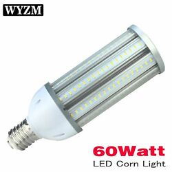 Led Corn Cob Light Bulb 60w Replacement For 350-400w Hid Mh Hps Ac100-277v