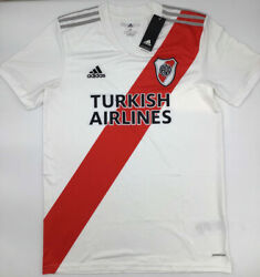 River Plate Home Jersey 2020/2021 White Adidas New With Tags Fq7660 S-m-l-xl