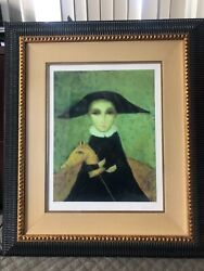 Limited Edition Serigraph On Canvas 147/195 Of Sergey Smirnov Favorite Toy.