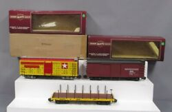 Bachmann G Scale Assorted Freight Cars 93612, 93314 [3]/box