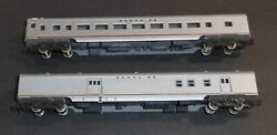 N Scale Con-cor Passenger And Baggage Cars Lot Of 2 Santa Fe