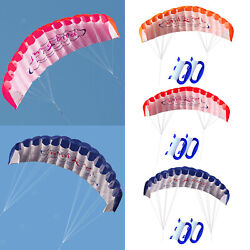 Dual Line Traction Kite Surfing Stunt Trainer Kite Parafoil Parachute Wing